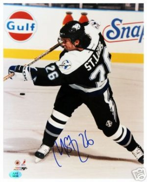 MARTIN ST. LOUIS SIGNED 8X10 PHOTO (ASI)