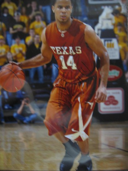 D.J. Augustine Signed 16X20 Photo