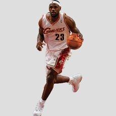 070deb3f7cec Lebron James Cleveland Cavaliers Fathead