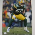 A.J. Hawk Signed 8x10 Photo (GAI)