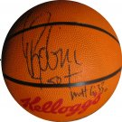 David Robinson Signed Kelloggs Basketball (GAI)