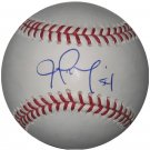 Joel Zumaya Signed Official Major League Baseball (PSA/DNA)