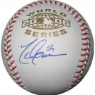 Todd Jones Signed 2006 World Series Baseball (PSA/DNA)