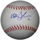 Kelly Johnson Signed Official MMajor League Baseball (PSA/DNA)