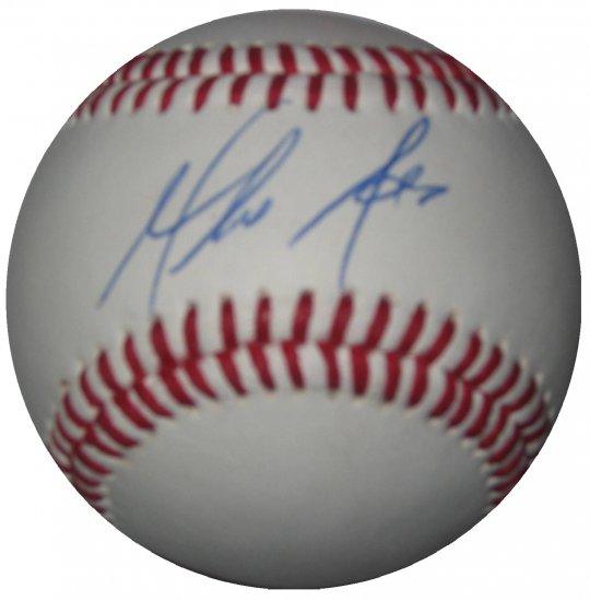 Mike Adams Signed Trump Signature Series Baseball