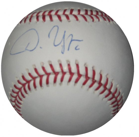 Dan Uggla Signed Official Major League Baseball