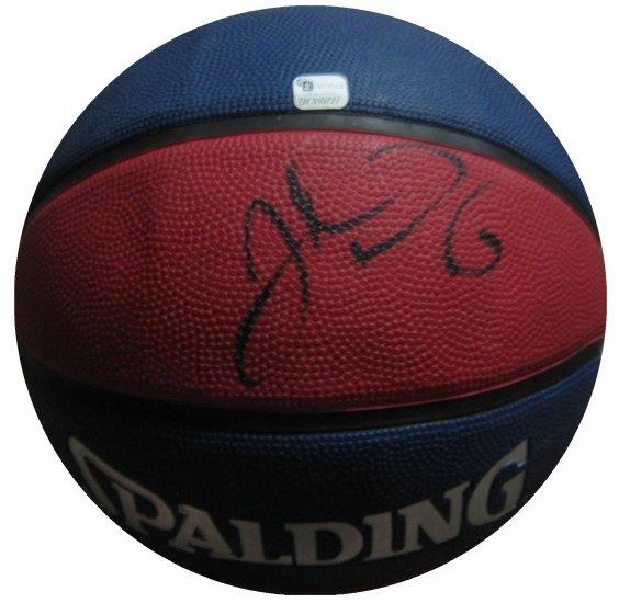 Josh Howard Signed Full Size Basketball (GAI)