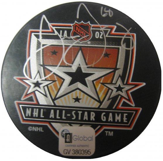 Jaromir Jagr Signed 2002 Allstar Puck (GAI)