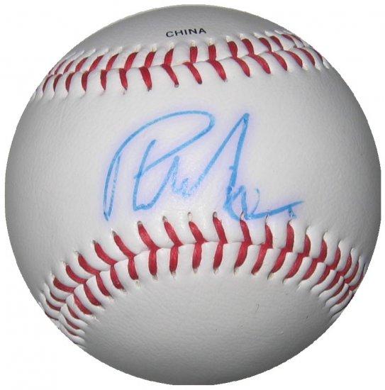 Phil Nevin Autographed Official League Baseball