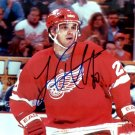 Luc Robataille signed 8x10 Photo