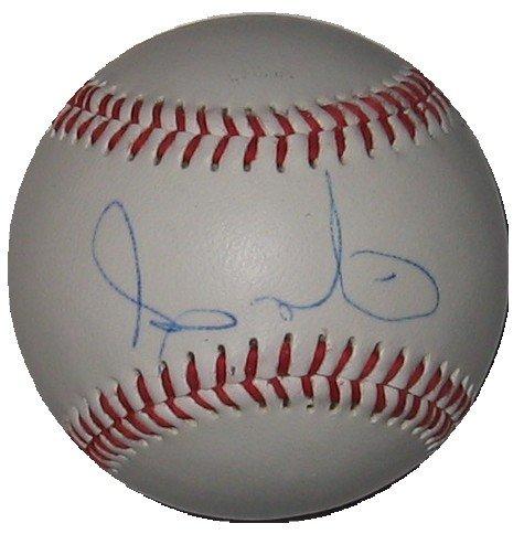 Andy Marte Autographed Official League Baseball
