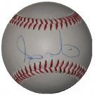 Andy Marte Autographed Official League Baseball