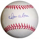 Moises Alou Signed Official Major League Baseball (GAI)