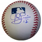 Jed Lowrie Signed Official Major League Baseball (JSA)