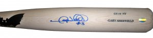 Gary Sheffield Signed Game Issued Bat (JSA)