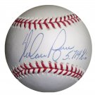 Nolan Ryan Signed Official Major League Baseball With 5714 K's Inscription (Mounted Memories)