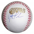Jonathan Papelbon Signed Official 2007 World Series Baseball (GAI)