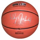Wesley Johnson Syracuse Signed Mini Basketball