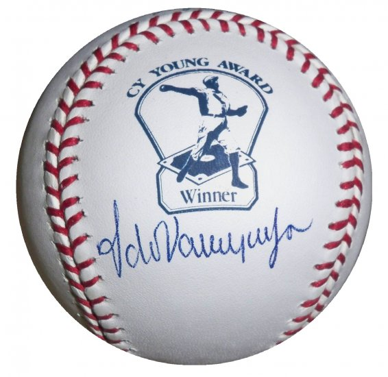 Fernando Valenzuela Signed CY Young Baseball (PSA/DNA)
