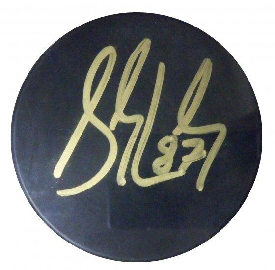 Sidney Crosby Signed Puck (JSA)