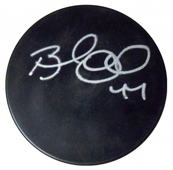 Brooks Orpik Signed Puck