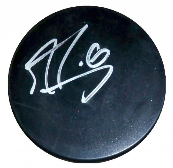 Marc-Andre Fleury Signed Puck