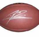 Sidney Rice Signed Football (GAI)
