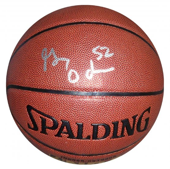 Greg Oden Signed Basketball (PSA/DNA)