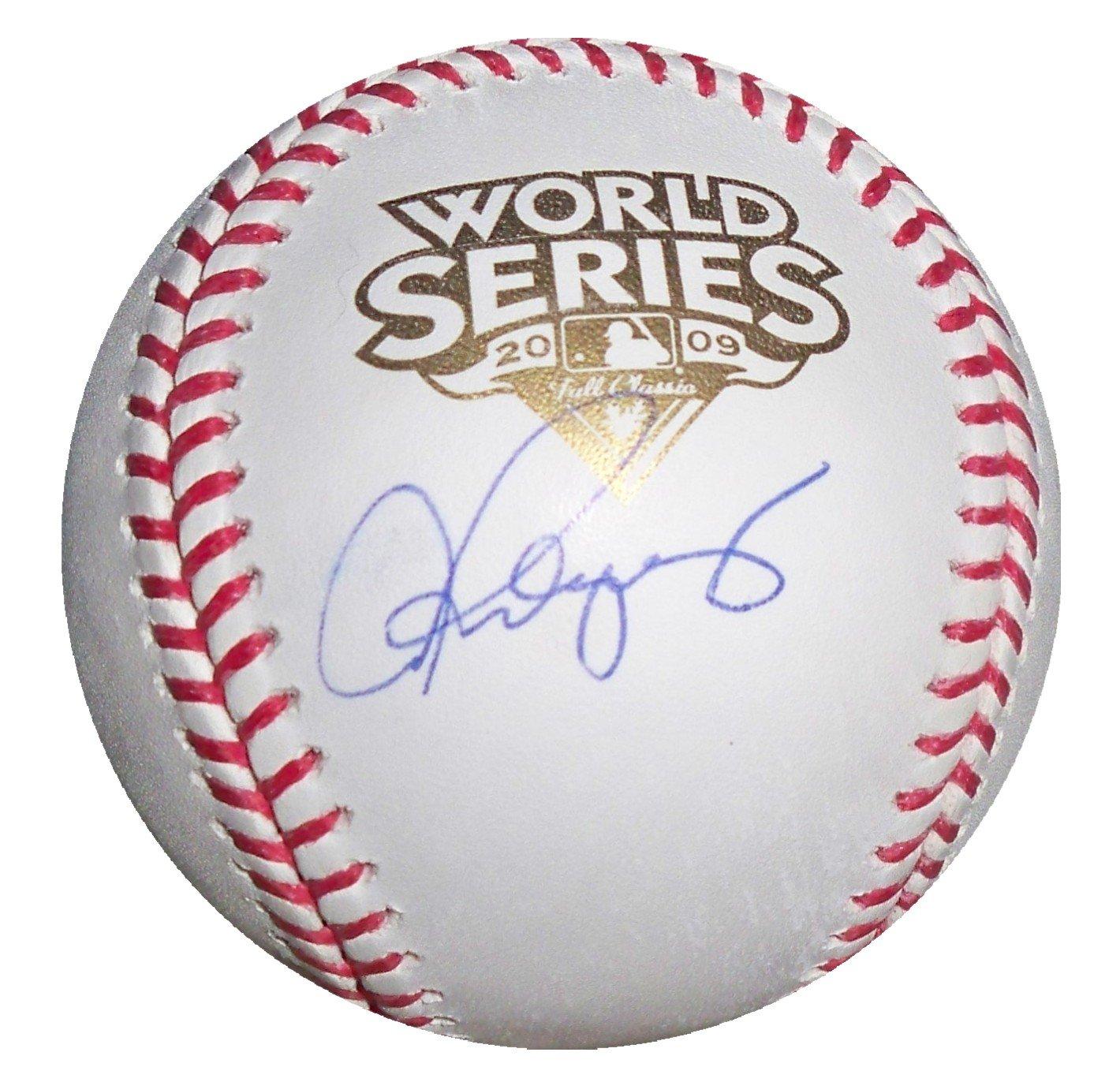Alex Rodriguez Signed 2009 World Series Baseball (MLB Authenticated)