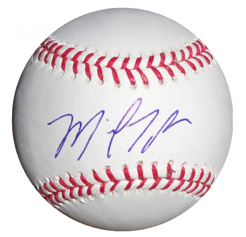 Michael Taylor Signed Official Major League Baseball (Onyx)