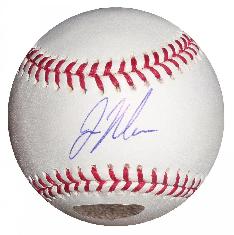Joe Mauer Signed Official Major League Baseball (Just Minors)