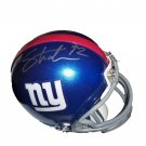 Michael Strahan Signed Giants Mini Helmet (JSA)