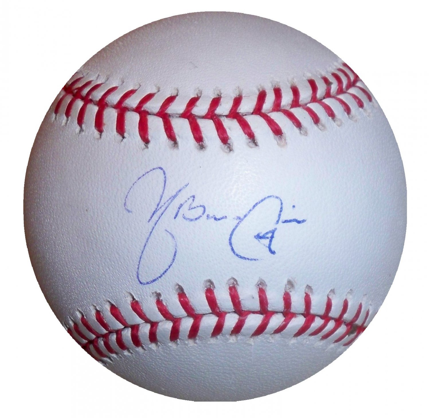 Yadier Molina Signed Official Major League Baseball (Steiner)