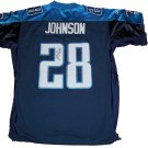 Chris Johnson Signed Titans Jersey (JSA)