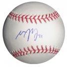 Matt Garza Signed Official Major League Baseball (PSA/DNA)