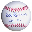 Bob Gibson Signed Official Major League Baseball (Onyx)