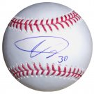 Ubaldo Jimenez Signed Official Major League Baseball (JSA)