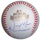 Jason Motte Signed Official 2011 World Series Baseball (PSA/DNA)