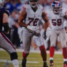 Osi Umenyiora Signed New York Giants 16x20 Photo (JSA)