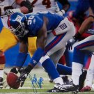 Jason Pier Paul Signed New York Giants 8x10 Photo (JSA)