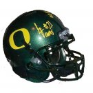 Lamichael James Signed Oregon Mini Helmet (JSA)