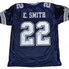 Emmitt Smith Signed Dallas Cowboys Jersey (Tristar)
