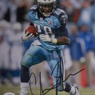 Chris Johnson Signed Titans 8x10 Photo(JSA)