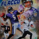 Joe Flacco Signed Ravens 16x20 Photo (Flacco Holo)