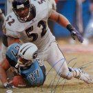 Ray Lewis Signed Ravens 16x20 Photo (JSA)