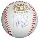 Albert Pujols Signed 06 World Series Baseball (Pujols & MLB COA)