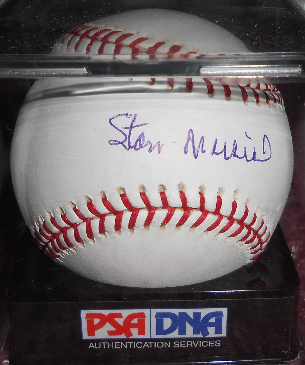 Stan Musial Signed Official Major League Baseball (PSA/DNA) Graded 9