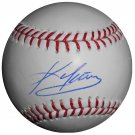 Kevin Youkilis Signed Official Major League Baseball (PSA/DNA)