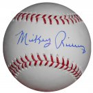 Mickey Rivers Signed Trump Signature Series Baseball (MLB)