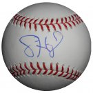 Jason Heyward Signed Official Major League Baseball (Just COA)